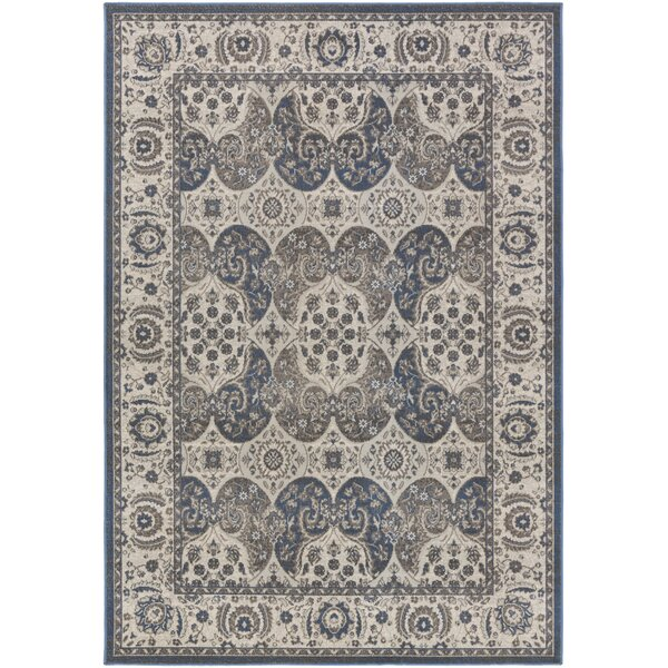 Eberly Slate/Gray Area Rug by Charlton Home