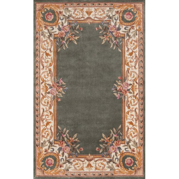 Laurel Hand-Tufted Wool Sage Area Rug by Astoria Grand