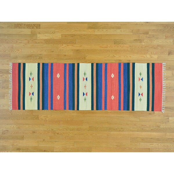 One-of-a-Kind Circe Design Handmade Kilim Wool Area Rug by Isabelline