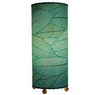 Read Reviews Outdoor Cocoa Leaf Cylinder 17 Table Lamp By Eangee Home Design