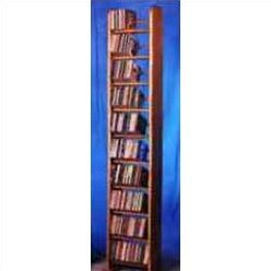1000 Series 260 CD Backless Dowel Multimedia Storage Rack by Wood Shed