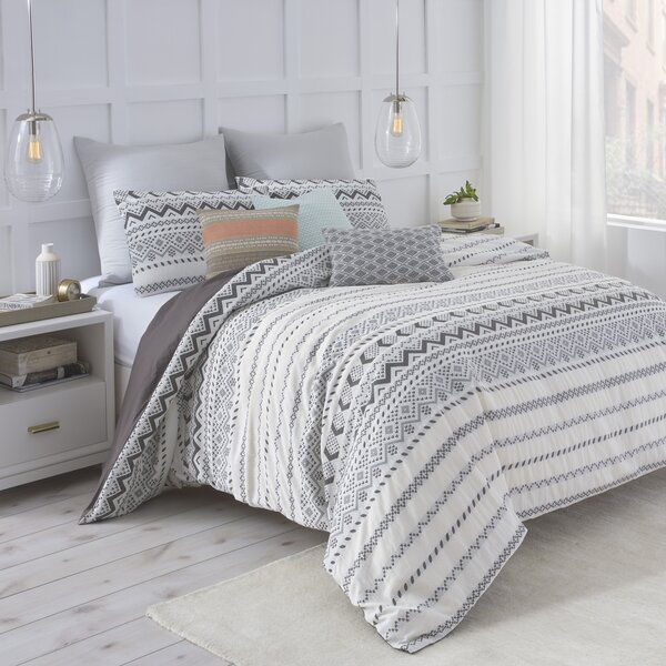 under the canopy abstract aztec polyester reversible comforter set ...