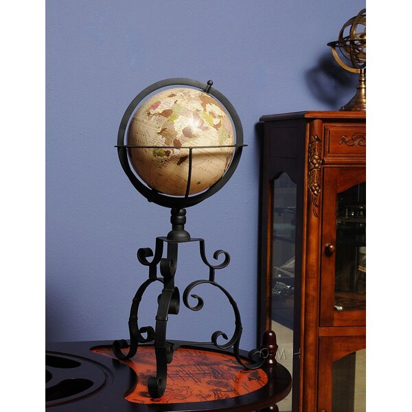 Globe on Tristand by Old Modern Handicrafts