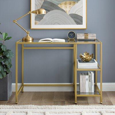 Gold Desks White Amp Gold Desks You Ll Love In 2019 Wayfair