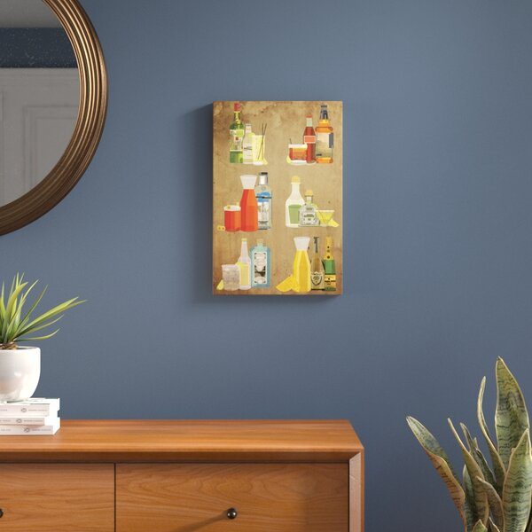 Classic Cocktails Graphic Art on Wrapped Canvas by Langley Street
