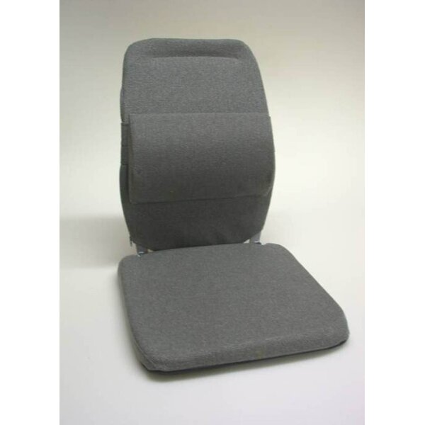 Bucket Seat Back Cushion with Adjustable Lumbar by Sacro-Ease
