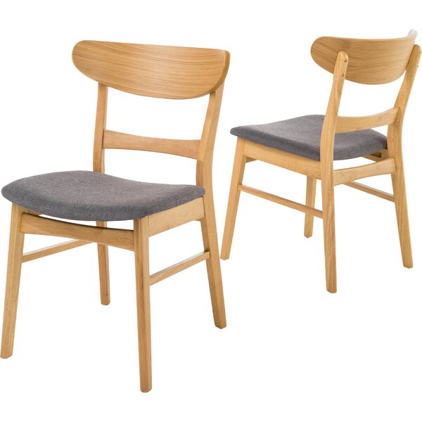 #2 Chisdock Solid Wood Dining Chair (Set Of 2) By Hashtag Home Best Design