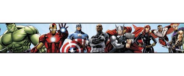 Walt Disney Kids II Avengers 6 Border Wallpaper by