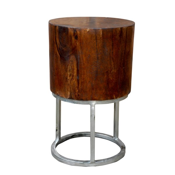 Sanders Round Side Table by Foreign Affairs Home Decor