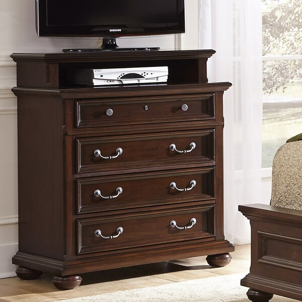 Givens 4 Drawer Media Chest by Darby Home Co