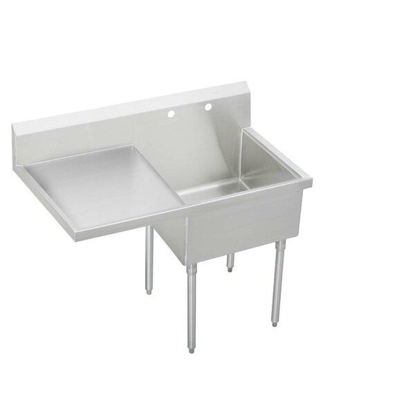 55.5 x 27.5 Free Standing Service Sink by Elkay