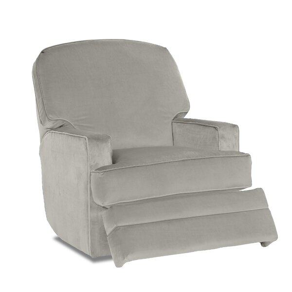 Bridger Glider Swivel Recliner by Wayfair Custom Upholstery™