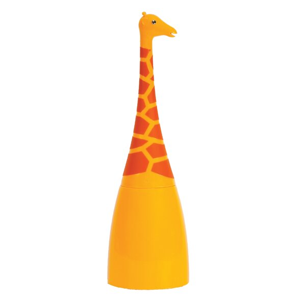 Animal House Giraffe Free Standing Toilet Brush and Holder by Boston Warehouse Trading Corp