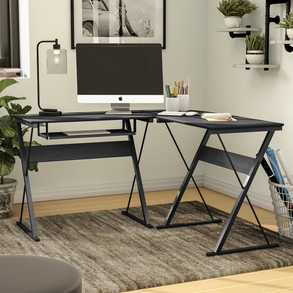 L-Shape Corner Desk by Symple Stuff