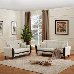 Townson 2 Piece Standard Living Room Set by Corrigan Studio®