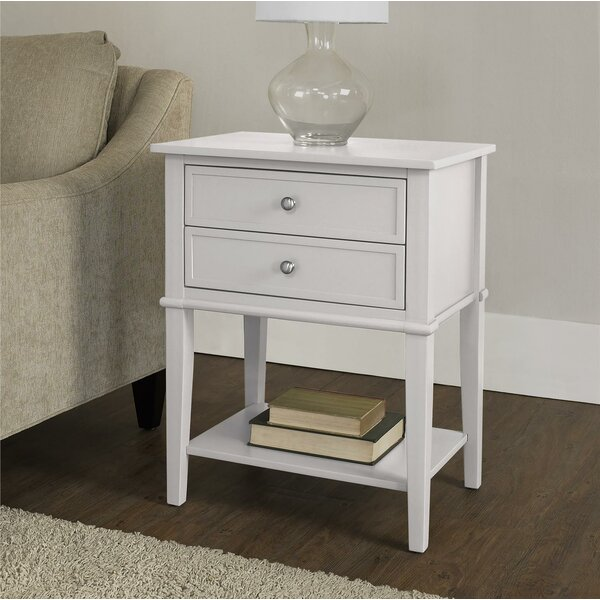 Dmitry End Table With Storage by Beachcrest Home