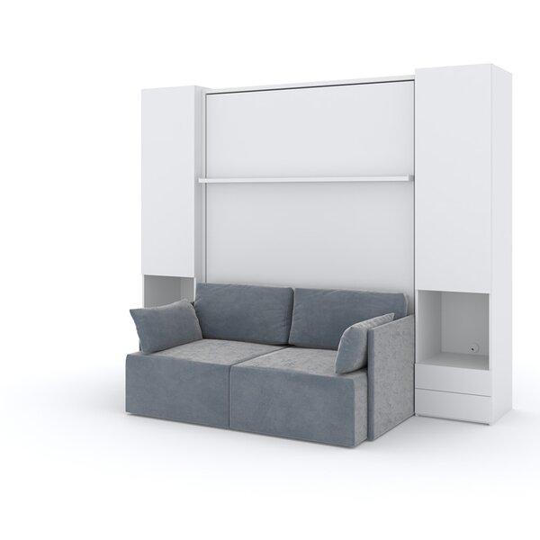 Berezinsky Queen Upholstered Storage Murphy Bed by Latitude Run Latitude Run