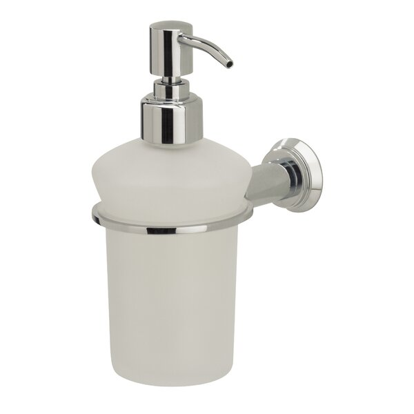Nova Liquid Soap Dispenser by Valsan