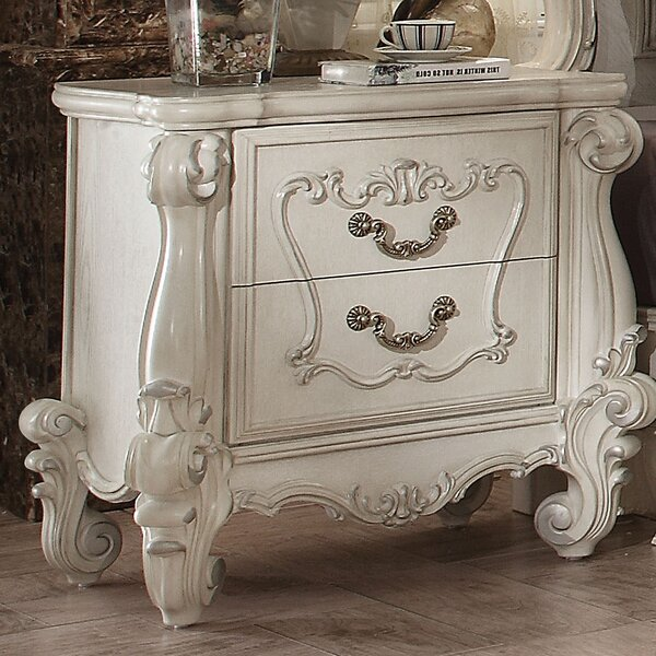 Welton 2 Drawer Nightstand By Astoria Grand by Astoria Grand 2020 Sale