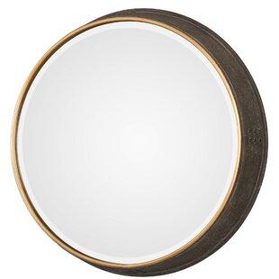House of Hampton Cayden Sturdivant Round Accent Mirror