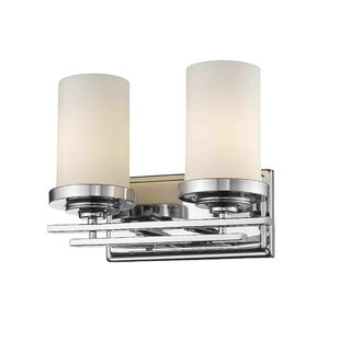 Affordable Price Capel 2-Light Vanity Light By Ebern Designs