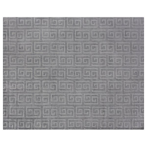 Samara Hand-Woven Gray Area Rug by Exquisite Rugs