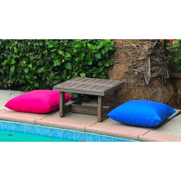 Yandell 3 Piece Teak Conversation Set with Sunbrella Cushions