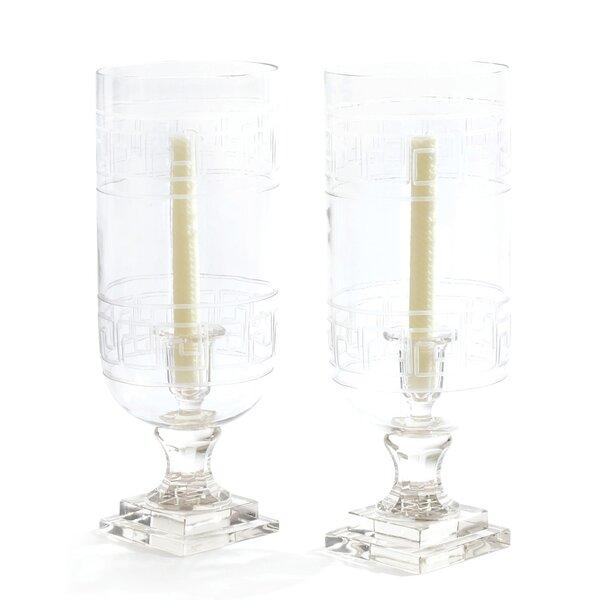 Glass Hurricane (Set of 2) by Mercer41