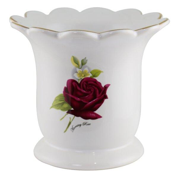 Morning Rose Utensil Crock by Astoria Grand