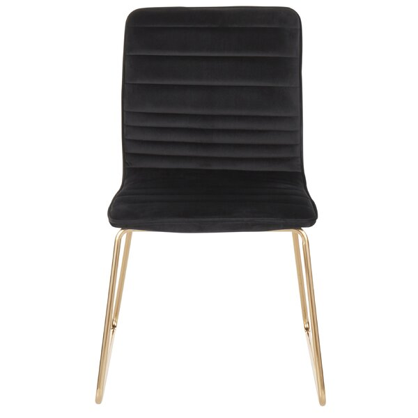 Algona Upholstered Dining Chair by Everly Quinn