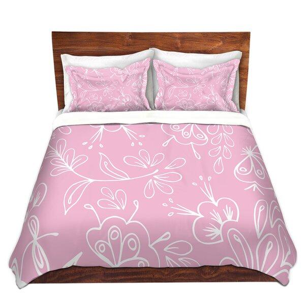 Wittman Zara Martina Pink Flora Mix Microfiber Duvet Covers