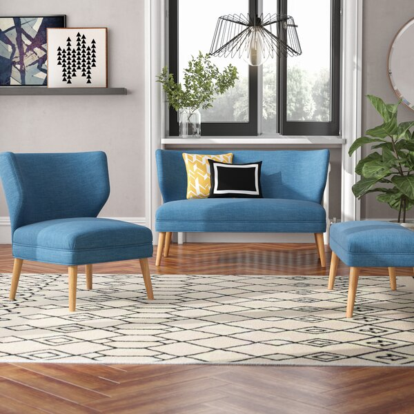 Raleigh 3 Piece Living Room Set by Langley Street