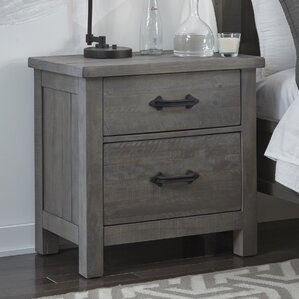 Catawissa 2 Drawer Nightstand by Gracie Oaks