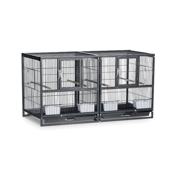 Hampton Deluxe Divided Breeder Cage System by Prevue Hendryx