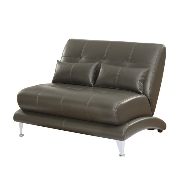 Gutshall Contemporary Loveseat by Ivy Bronx