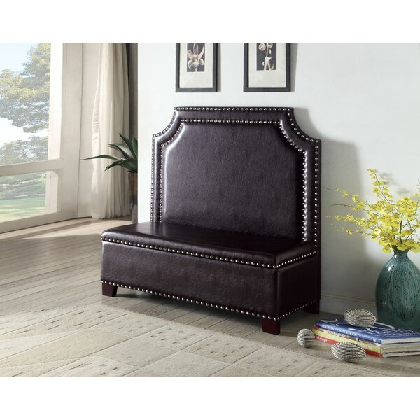 Alani Settee with Storage by Charlton Home