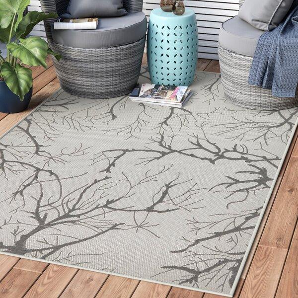 Kornegay Light Gray Outdoor Area Rug by Zipcode Design