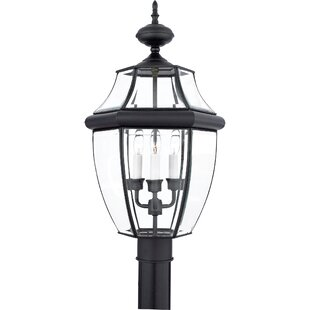 Affordable Millbrook Outdoor 3-Light Incandescent Lantern Head By Three Posts