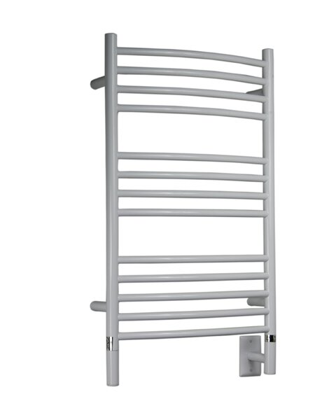 Jeeves Wall Mount Electric C Curved Towel Warmer by Amba