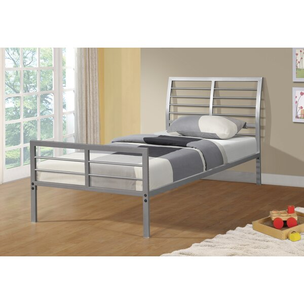 Chrystal Metal Slat Bed by Zoomie Kids