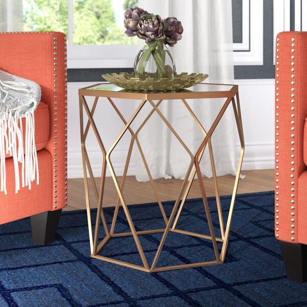 Luxton Drum End Table By Willa Arlo Interiors