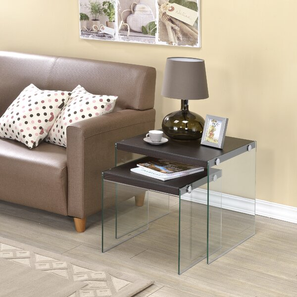 Zeno 2 Piece Nesting Tables by Ebern Designs