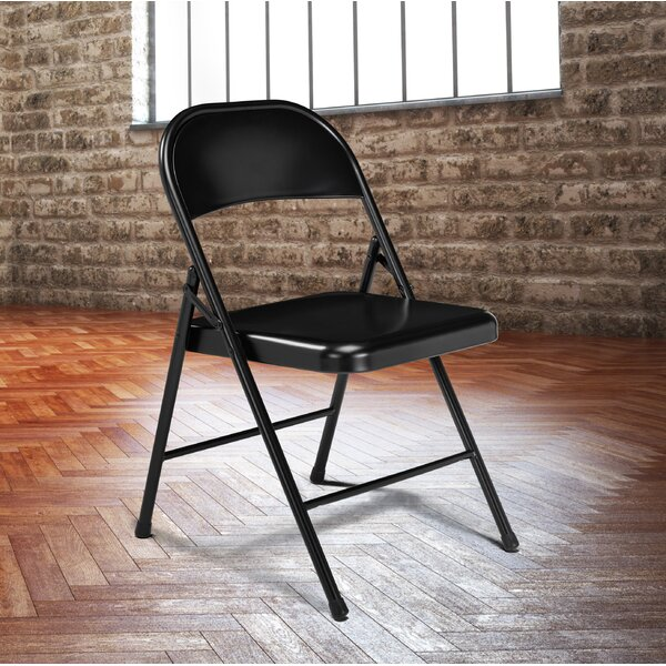 Commercialine Steel Folding Chair (Set of 4) by National Public Seating