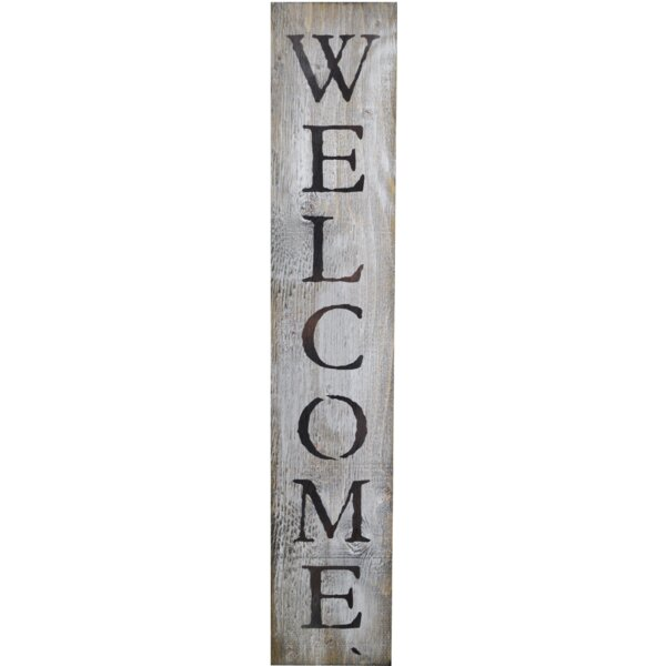 In-A-Word Welcome Wall Décor by Fireside Home
