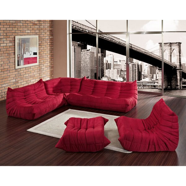 Waverunner 5 Piece Living Room Set by Modway