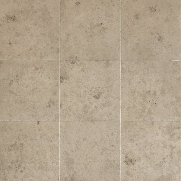 Everstone 12 x 12 Porcelain Field Tile in Ever-Grau by Travis Tile Sales