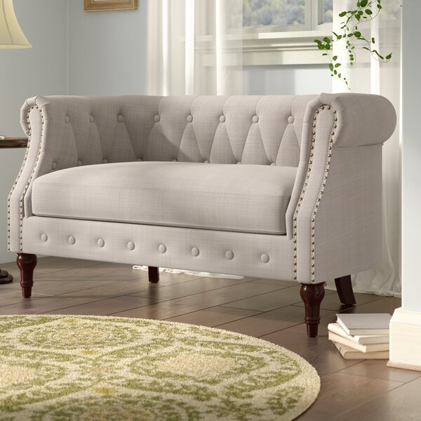 Edmeston Chesterfield Loveseat by Birch Lane™ Heritage