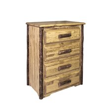 Glacier Country 4 Drawer Chest by Montana Woodworks