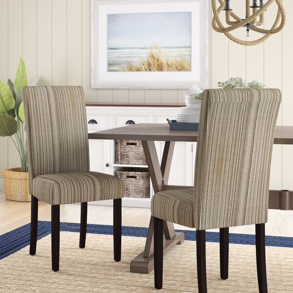 Vaughn Upholstered Dining Chair (Set Of 2) By Beachcrest Home