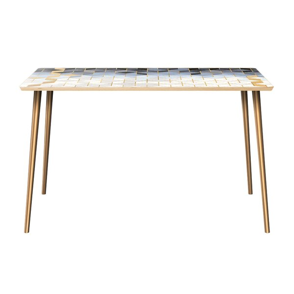 Kanoe-Chaoue Dining Table by Bungalow Rose